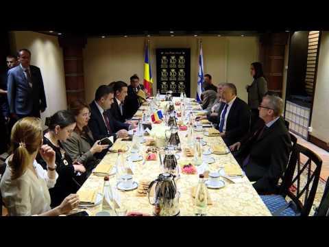 5/4/17: Israel - Întrevedere cu Avigdor Lieberman, ministrul israelian al apărării.