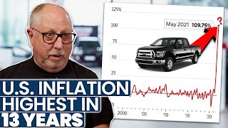 U.S. Inflation HIGHEST in 13 Years! Are Cars and Trucks to BLAME?? (Former Dealer Explains)