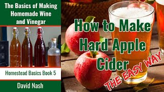 Recipe Hard Apple Cider