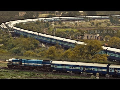 Single Line Crossing Trains | Shindawane Ghat | Goa Vs Ajmer Express | Indian Railways