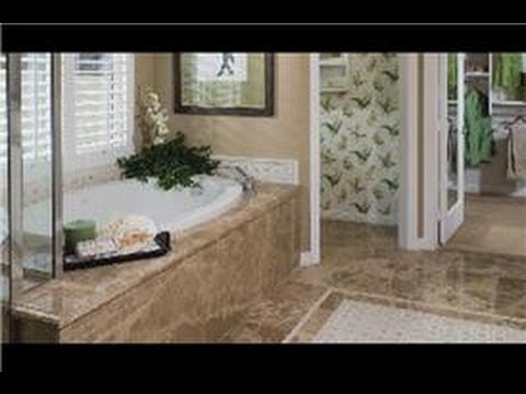 Interior Design Concepts : Decorating the Master Bath - YouTube