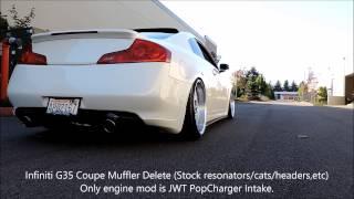 g35 muffler delete exhaust clip