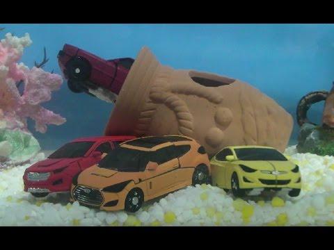 헬로카봇 마이크로 장난감 물놀이 Hello Carbot Micro Water Play Toys