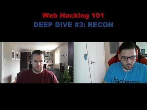 Web Hacking Pro Tips Deep Dive #3: Advanced Recon