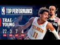 Trae Young Tallies 22 Points and Hits Game Winner from DEEP for Atlanta   2018 NBA Preseason