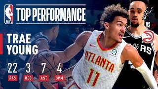 Trae Young Tallies 22 Points and Hits Game-Winner from DEEP for Atlanta | 2018 NBA Preseason