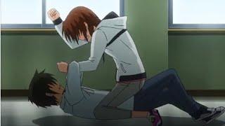 Linda And Banri Fight BestAnimeScenes 1080p