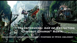 "Transformers: Age of Extinction - ""Dinobot Charge"" Remix"