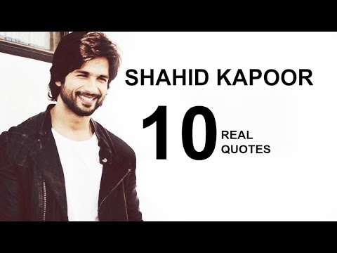 Shahid Kapoor 10 Real Life Quotes on Success | Inspiring | Motivational Quotes