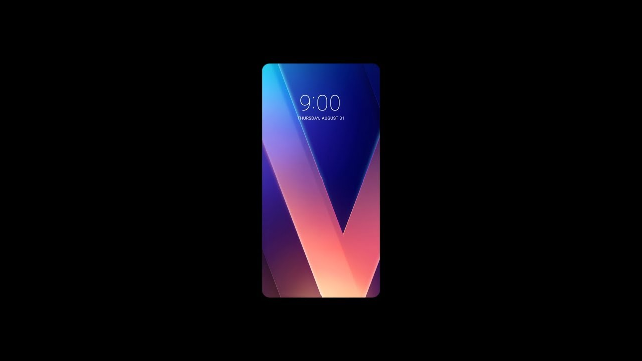 Lg V30 Wallpaper Making Film