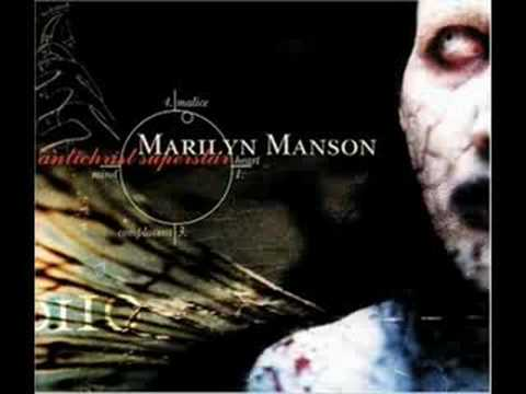 Marilyn Manson 10Angel With The Scabbed Wings
