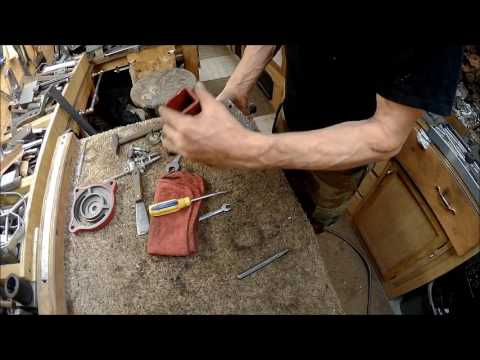 craftsman 4 inch vice restore part 1 the cleaning and paint