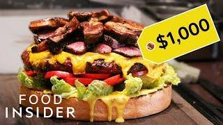 What Japan's $1,000 Burger Tastes Like
