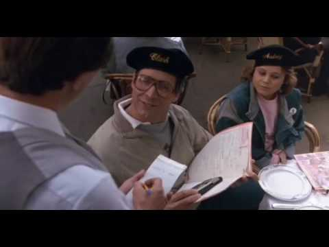 European Vacation waiter scene