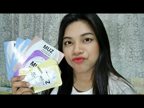MUZ Korea Skincare |Product Review Tagalog| JustReg