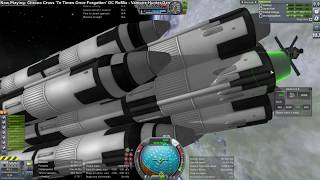 Kerbal Space Program - 1400 ton payload SSTO to Low Kerbin Orbit