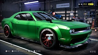 Need for Speed Heat - Dodge Challenger SRT8 2014 - Customize | Tuning Car (PC HD) [1080p60FPS]