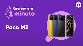 Imagem do prévia do vídeo: Poco M3 - Ficha Técnica | REVIEW EM 1 MINUTO - ZOOM