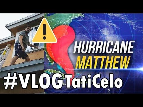 ⚠#VlogFURACÃO 1: ALERTA! O HURRICANE MATTHEW TÁ CHEGANDO NA FLORIDA   Preparativos