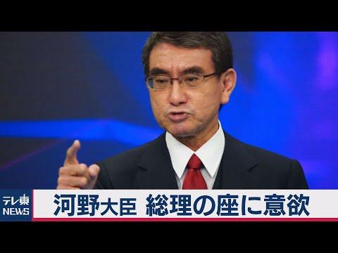 2020/11/23 河野大臣 総理の座に改めて意欲 自民党の多数の賛成得られずとも政策実現目指す(2020年11月23日)