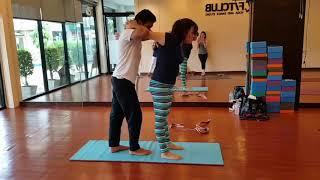 Private Class Master Sandeep @fitclub yoga