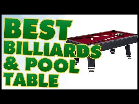 10 Best Billiard & Pool Table Reviews 2017