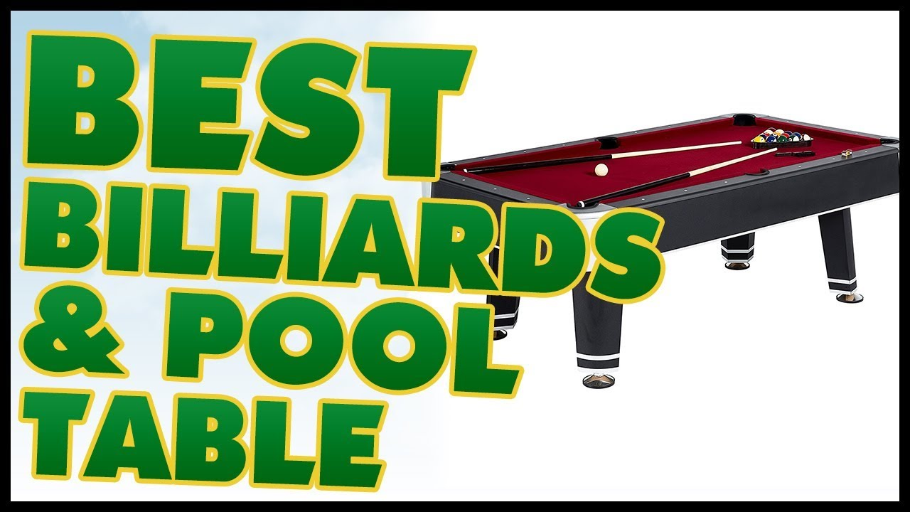 Best Billiard Pool Table Reviews YouTube - American heritage madison pool table