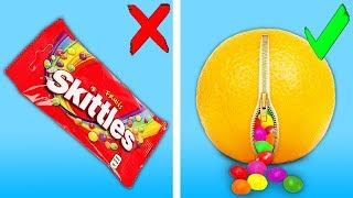 Top 25 Ways To Sneak Candies