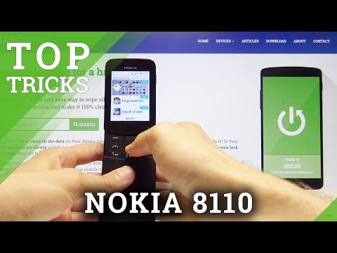 Top Tricks NOKIA 8110 4G - Tips / Hidden Options / Cool Features