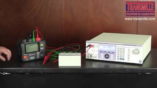 3200B Electrical Test Equipment Calibrator - High Voltage Insulation Testers