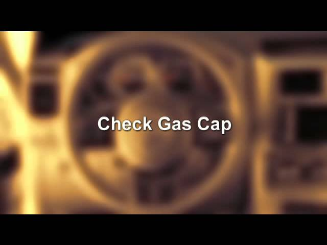 2012 Jeep Liberty Gas Cap Message Youtube