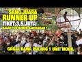 Kencana Cup  Juara  Gagal Dapet Mobil Tiket   Juta Murai Batu Tengil Kalah Tos Nomer Gantangan  Mp3 - Mp4 Download