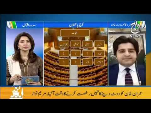 Aaj Pakistan with Sidra Iqbal | Senate Elections Main Kya Development Hain?| Aaj News | Part 1