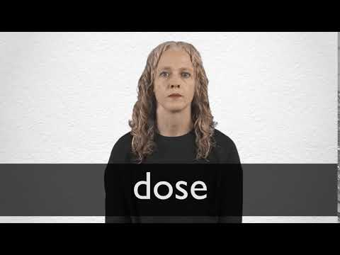 Dose definition and meaning | Collins English Dictionary
