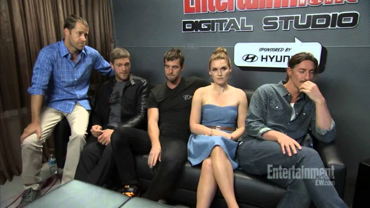 Haven Cast Comic Con 2013 EW interview - YouTube Haven