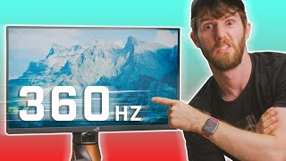You don't deserve this monitor - Does 360Hz gaming make a difference?