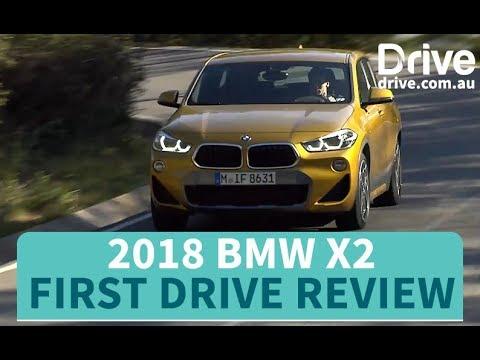 2018 BMW X2 xDrive 20d First Drive Review   Drive.com.au - Dauer: 3 Minuten, 55 Sekunden