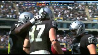 Oakland Raiders - Shane Lechler to Kevin Boss Fake Field Goal TOUCHDOWN