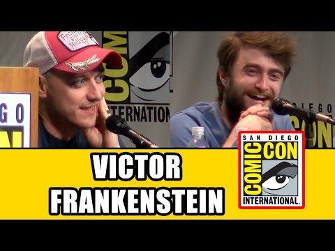 Victor Frankenstein Comic Con Panel - Daniel Radcliffe, James McAvoy