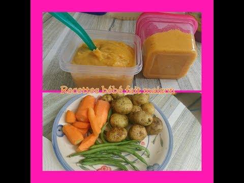 nelly-ladouce-:recettes-bébé-fait-maison.-pommes-de-terre,-carottes-et-haricots-verts