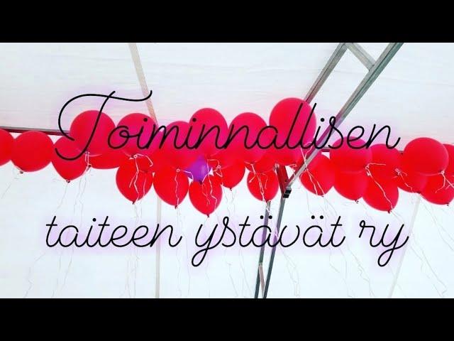 Toiminnallisen taiteen ystävät ry- esittely video