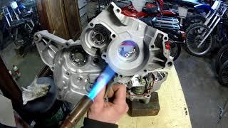 remontage bas moteur am6 partie2
