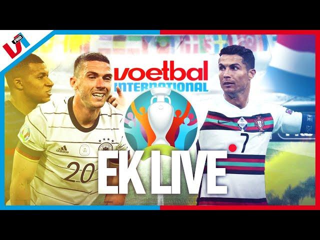 EK LIVE 🔴#10: Recordkoning Ronaldo, Memphis & Welk Plan Kiest De Boer?