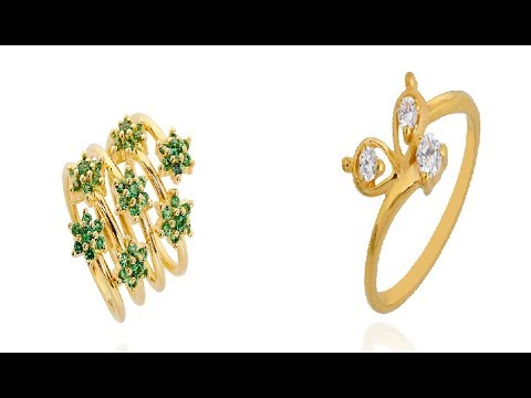 New Fashion Stones Rings Collections gold Gemstone & Diamond