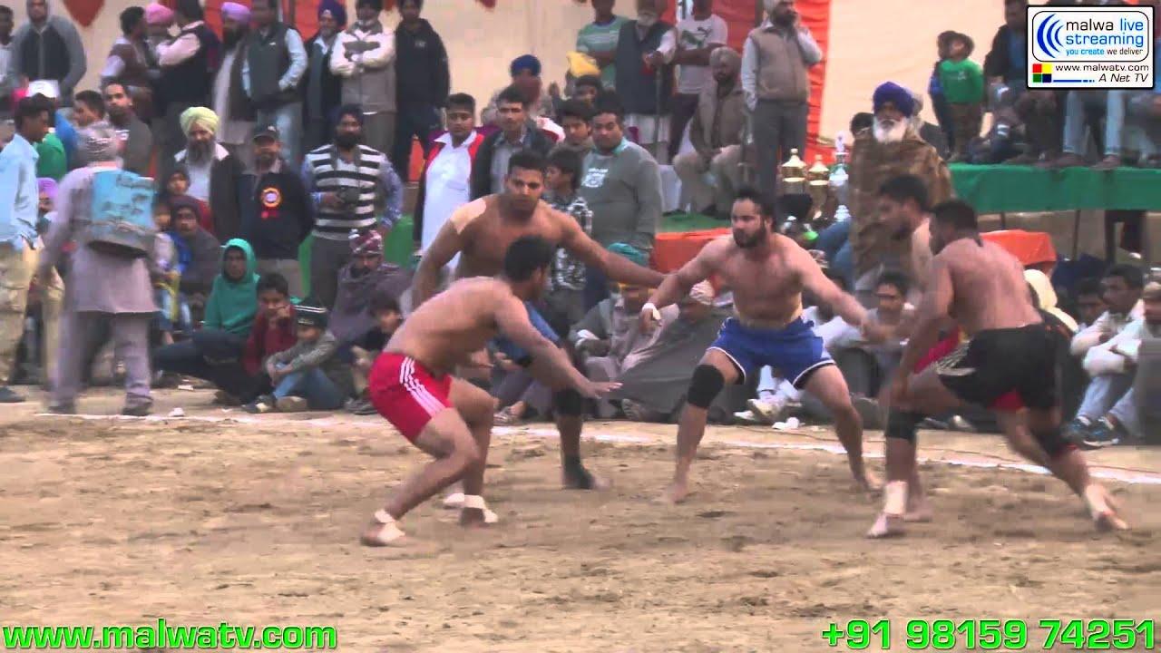 SHEIKHDAULAT (Jagraon) Kabaddi Tournament - 2014. Part 2nd.