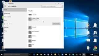 Como remover rede no Windows 10