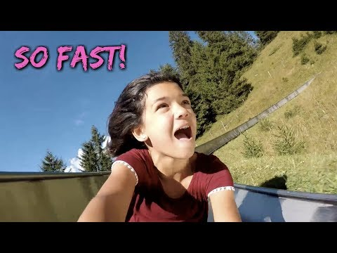 ARE YOU BRAVE enough to go down the FASTEST ALPINE Slide?
