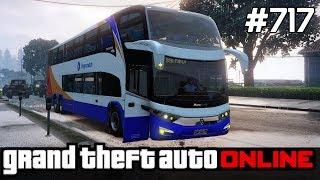 GTA 5 PC Online Po Polsku [#717] Profesjonalni KIEROWCY Autobusów /z Lucek