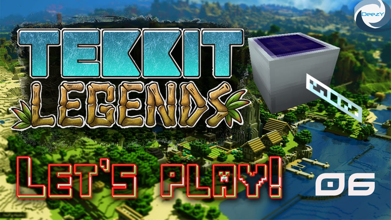 Tekkit Legends 6 Quot Solar Panels Quot Youtube