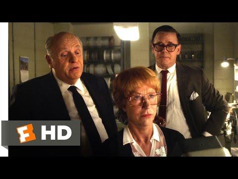 Hitchcock (2/3) Movie CLIP - Cutting Psycho (2012) HD
